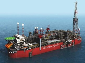 The 'Energean Power FPSO' offshore Israel Karish and Tanin fields