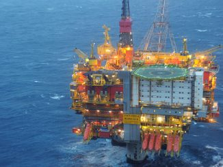 The Statfjord A platform in the North Sea (photo: Equinor ASA/Harald Pettersen)