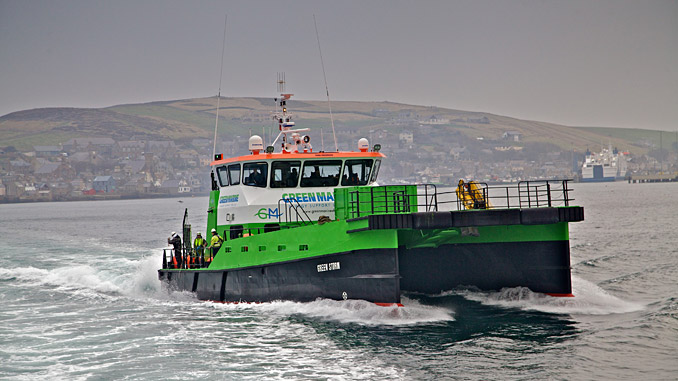 'Green Storm' (photo: Green Marine)