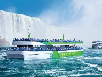 'Maid of the Mist' all-electric tour ferry