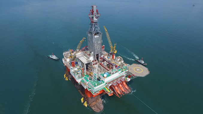 'West Mira' drilling rig