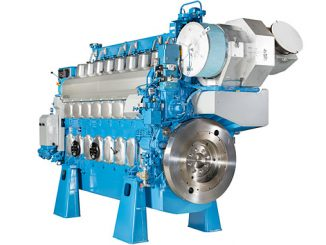 The fuel-efficient Wärtsilä 20DF engine is a popular choice in LNG vessel applications