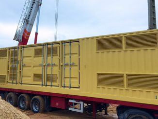 Surge2 WaveRoller substation installation (photo: AWE)
