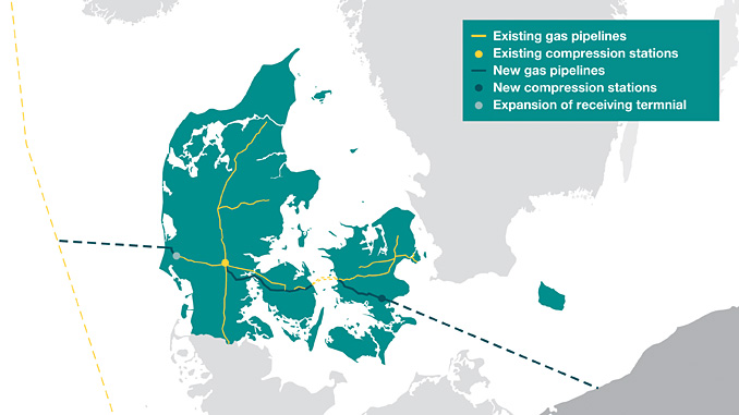 DNV GL has won a major contract to provide independent verification services for Energinet's section of the Baltic Pipe project, offshore Denmark