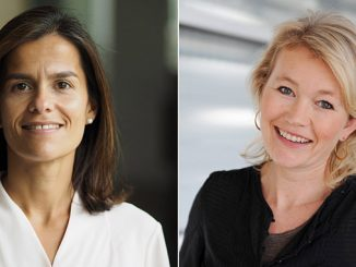 From left, Ana Fonseca Nordang will take over the position as SVP People & Leadership, and Siv Helen Rygh Torstensen will take over as General Counsel