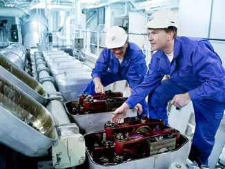 Performing service – scanning, engineering, fabrication – while a vessel is in operation