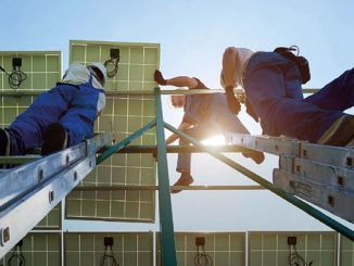 The widespread adoption of renewable energy technologies creates employment opportunities up and down the supply chain