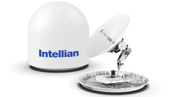 Intellian's all-new Ku- to Ka-band convertible and multi-orbit v100NX set to revolutionise the maritime satellite communication antenna landscape