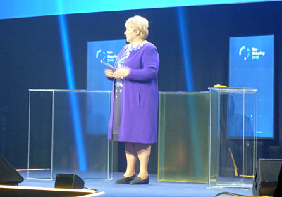 Focus on sustainability – Norwegian Prime Minister Erna Solberg