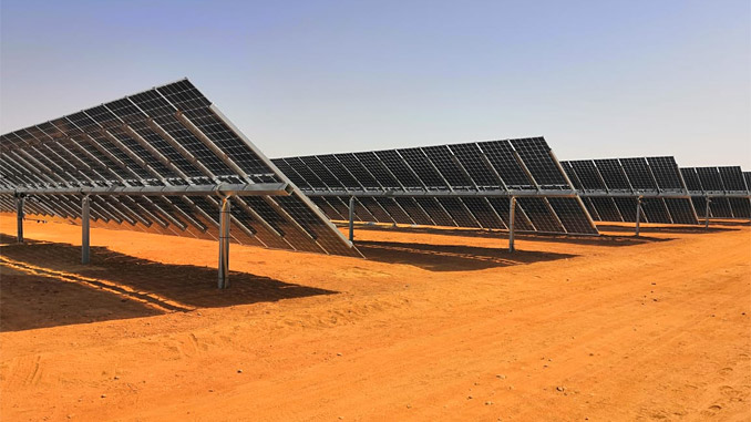 The Benban solar power plant is Scatec Solar's largest project under construction and the first solar plant with bi-facial solar panels