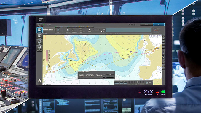 The Wärtsilä Navi-Planner addresses complete voyage planning and optimisation needs in a single service