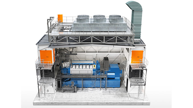 Wärtsilä Modular Block features prefabricated, expandable enclosures for sustainable power generation