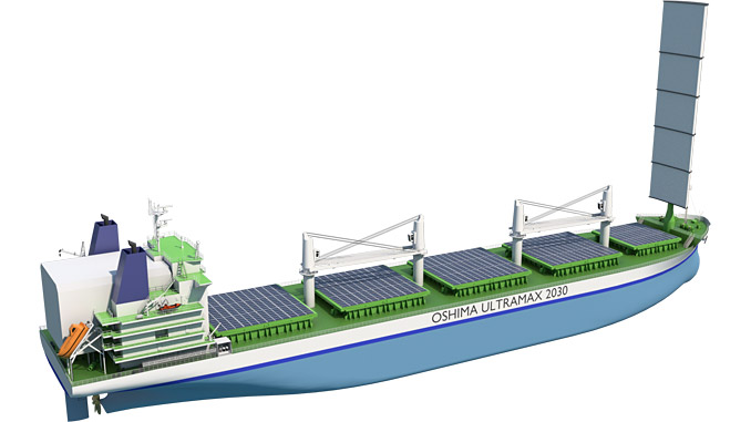 The new Ultramax Bulk Carrier design meets the IMO 2030 environmental targets