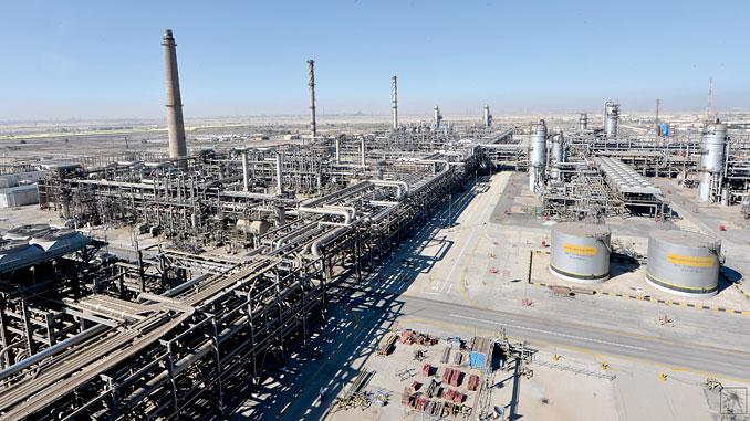 The Berri gas plant is the first facility in the Master Gas System in Jubail Industrial City, and was inaugurated in 1977