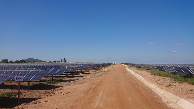 The 40 MW solar plant is located close to the city of Mocuba in the Zambézia Province and will deliver 79 GWh per year of much needed electricity to the northern regions of Mozambique