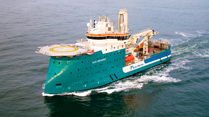 The 'Acta Centaurus' will be fitted with a Wärtsilä hybrid solution for fuel savings and better environmental performance