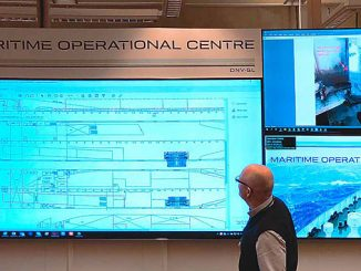 Surveyors at the on-shore Operational Centre can track numerous processes and parameters on board for evaluation and decision-making – expert staff can be consulted at any time, ensuring fast, highly specific instructions in any situation