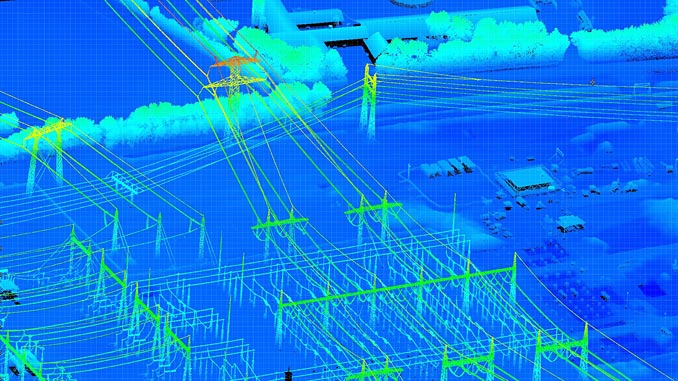 Roames service combines innovative mapping techniques with cutting-edge data processing and cloud computing capabilities to deliver an accurate and dynamic 3D virtual model of power company assets