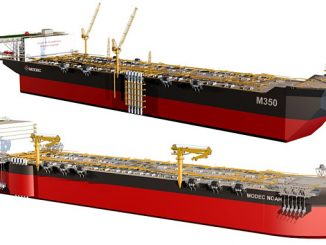 The 'M350' and 'MODEC NOAH', next generation new built hulls for floating production storage and offloading (FPSO) vessels