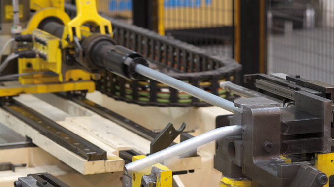 Stauff invests worldwide in its own high-tech tube bending centres