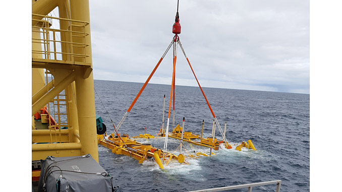 Ashtead Technology's Deflection Monitoring System being installed for a project with Ocean Installer AS in Equinor's Askeladd and Johan Castberg fields