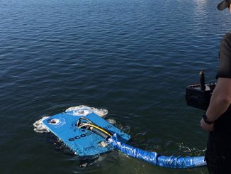 ECOsubsea's environmentally friendly ROV hull cleaning