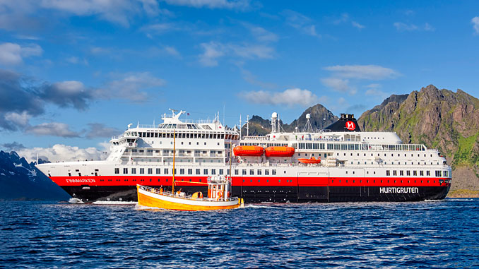 The 'Finnmarken' is the first of three Hurtigruten ships to be fitted with Wärtsilä NOR systems for Tier III compliance, after which it will be renamed the 'MS Otto Sverdrup'