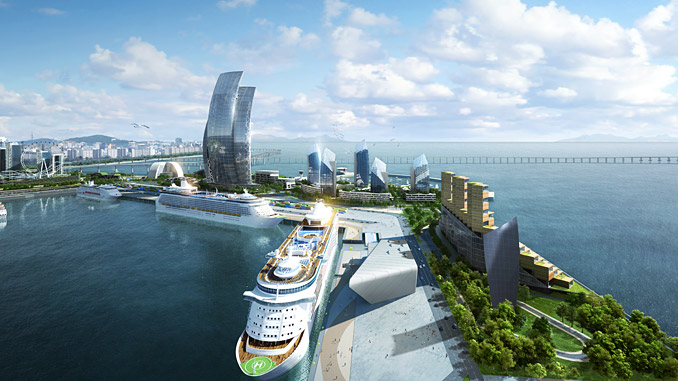 "The Port of Incheon ""Golden Harbor"" vision"