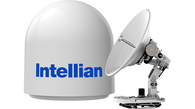 The world's first 85-cm Ku- to Ka-band convertible VSAT antenna system is now available to customers