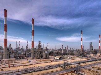 The Saudi Aramco Shell Refinery, Jubail, Saudi Arabia