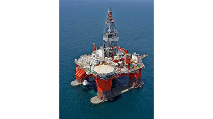 'West Hercules' is a 6th generation ultra-deepwater semi-submersible drilling rig capable of operations in both harsh and benign environments