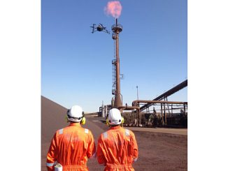 Sky-Futures, an ICR Integrity Company, pilots performing onshore drone inspections