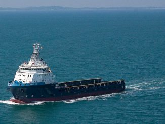 Tidewater Marine offshore supply vessel (OSV), 'Bailey Tide'