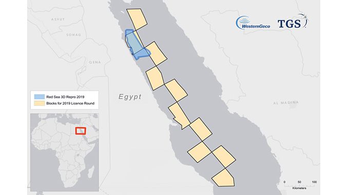 New multiclient project will reimage 3,600 km² of legacy seismic surveys of the Egyptian Red Sea