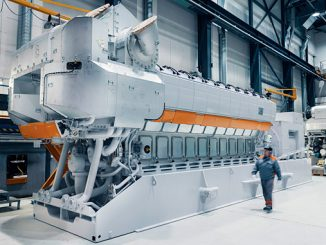 Wärtsilä 31DF multi-fuel engine