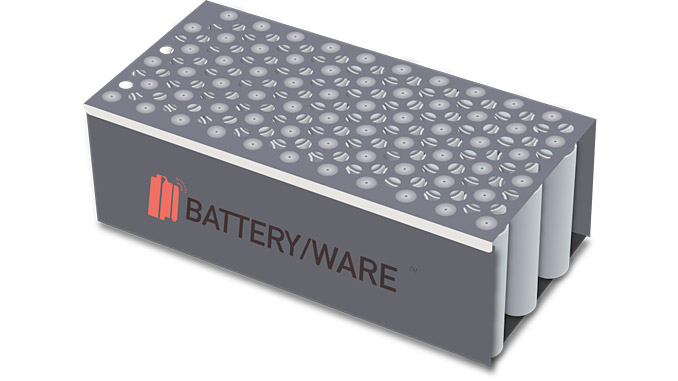 The world's only fully compressive AI driven battery testing device that tests batteries as they are used in the field and transmits the data in real time