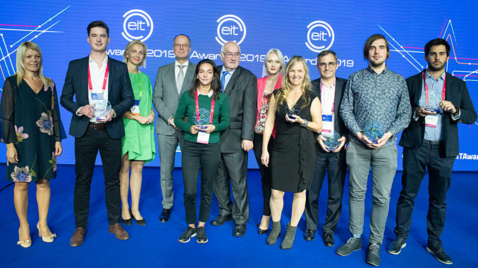 The EIT Awards celebrate the best of Europe's talented entrepreneurs who power solutions to pressing challenges facing Europe in climate, energy, digitisation, food, health, and raw materials