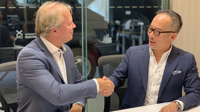 EST-Floattech has signed a dealer distribution agreement with Taiwan's XING Mobility™ to cooperate on providing EV battery and advanced powertrain solutions to construction and industrial equipment markets in Europe