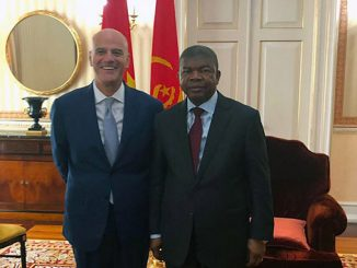 Claudio Descalzi, CEO of Eni, met with João Gonçalves Lourenço, President of the Republic of Angola (photo: Eni)