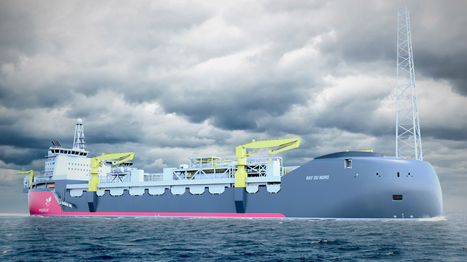 The 'Bay du Nord FPSO' to be located in the Flemish Pass Basin, some 480 kilometres offshore St. John's, Newfoundland and Labrador