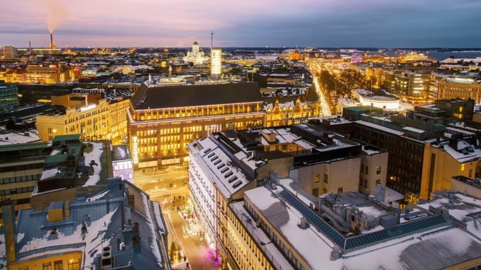 In addition to solving Helsinki's own challenge, the Helsinki Energy Challenge aims to find solutions with potential to solve global decarbonisation targets outside Helsinki and Finland as well (photo: Yiping Feng and Ling Ouyang)