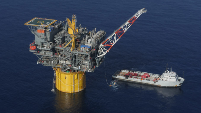 Tubular Bells, or TBells, a deepwater development in the Gulf of Mexico