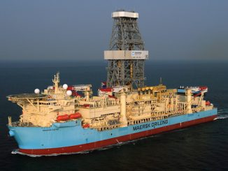 'Maersk Viking', a high-spec ultra-deepwater drillship, was delivered in 2013