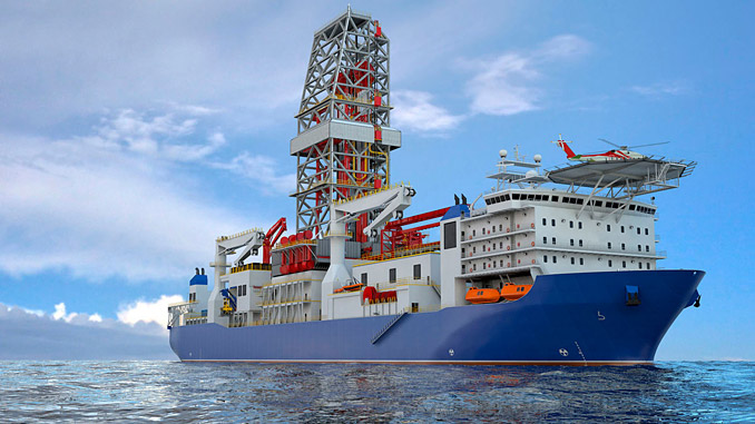 7th generation ultra deepwater drillship 'West Cobalt'