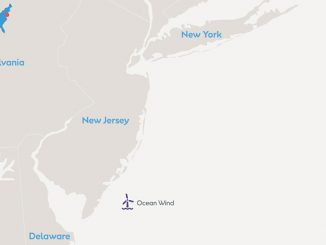 Located off the coast of Atlantic City, Ocean Wind will be New Jersey's first large-scale offshore wind farm