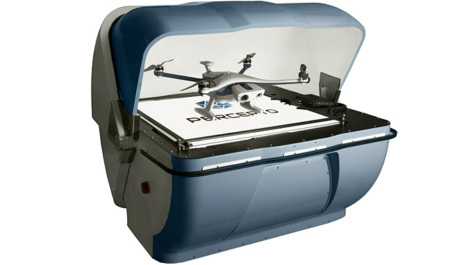 Drone in a box: The use of Percepto's DIB solution at oil and gas refineries includes automating routine inspections, on-site safety as well as detecting and tracking unauthorised personnel and intruders