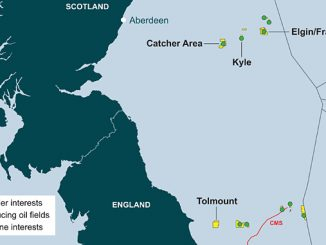 Tolmount East, located in the UK Southern Gas Basin (illustration: Premier Oil)