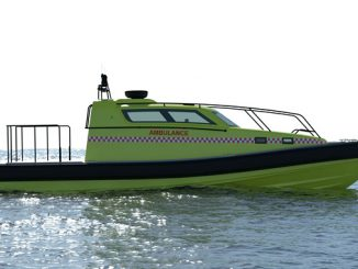 Offshore high-speed ambulance boat