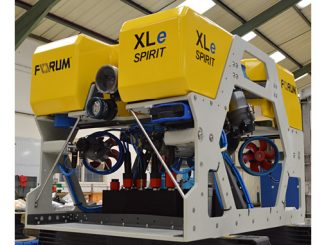 Electric observation class ROV, XLe Spirit