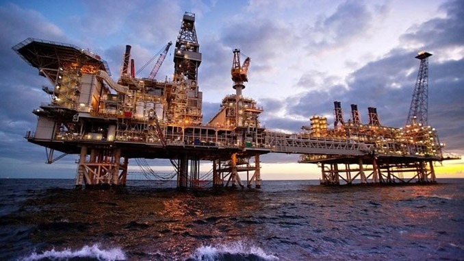 The supergiant ACG field is Azerbaijan's flagship oil producing asset covering 400 square kilometres and including six offshore production platforms (photo: Republic of Azerbaijan)